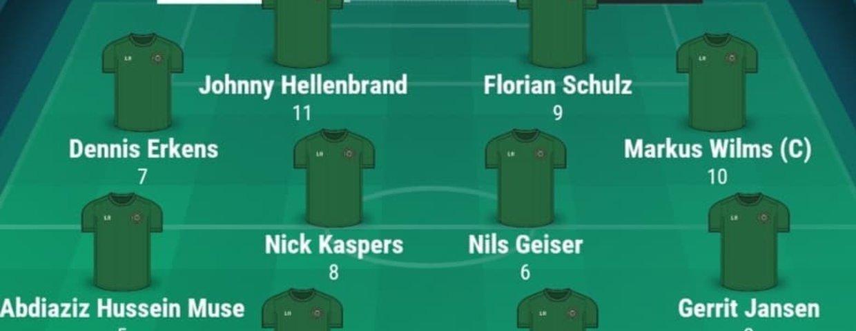 Eintracht I holt mit 2 späten Toren 2:2 in Kirchhoven II