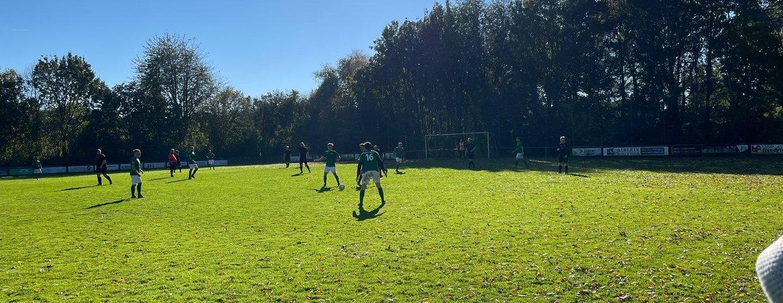 Eintracht I in Schafhausen ohne Probleme zum 4:0 Sieg