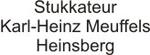 Stukkateur Karl-Heinz Meuffels, Heinsberg