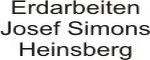 Erdarbeiten Josef Simons, Heinsberg